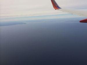Approaching Long Island