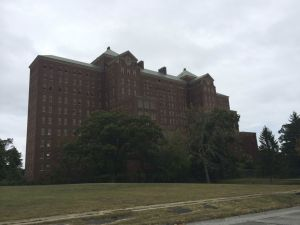 The abandoned Kings Park Psychiatric Center, Long Island